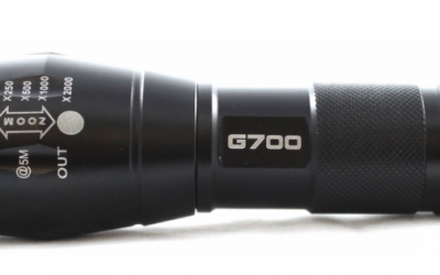 Lumitact G700 Tactical LED Flashlight Review