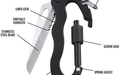 Free EDC Carabiner Multi-Tool Super Knife Offer + Review & FAQ