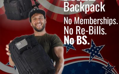 """Free """"Everyday"""" Tactical Backpack Offer + Review & FAQ"""