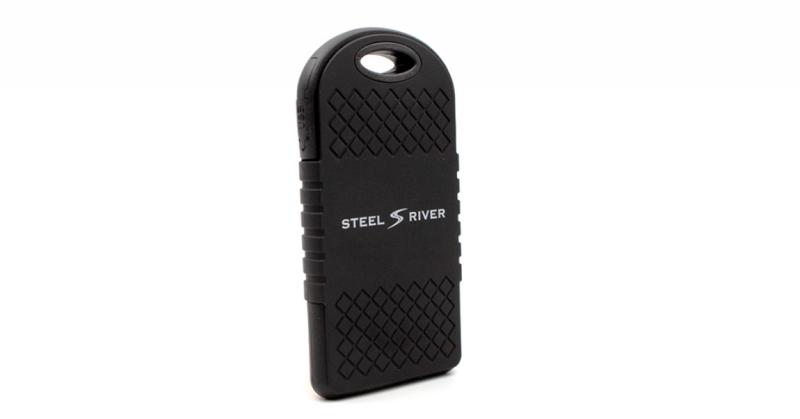 steel river charger back
