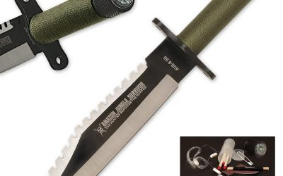 5 Best Survival Knives with Compass