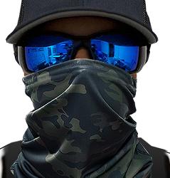 Free Midnight Camo Face Shield