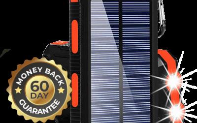 Solar Power Bank Offer + Review & FAQ