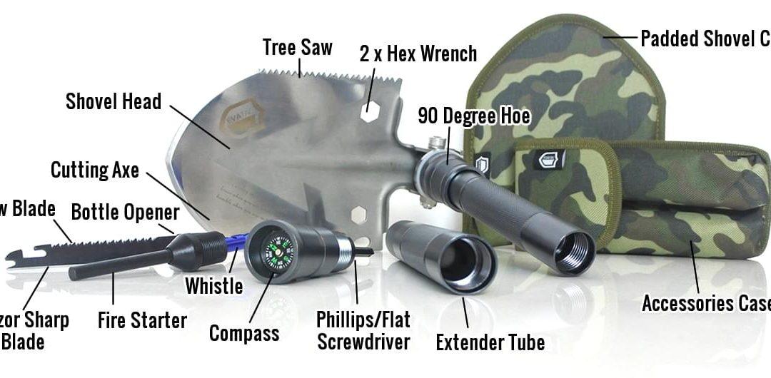 70% Discount: Evatac Tactical Shovel