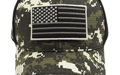 Free Tactical Camo USA Cap