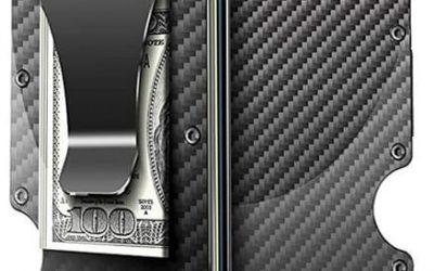 67% Discount: SecureTech Carbon RFID Blocking Wallet
